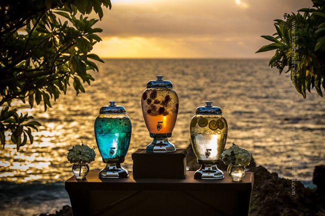 Signature Wedding Cocktails by Aloha Bars Maui | Gorgeous Maui WeddingsGorgeous Maui Weddings