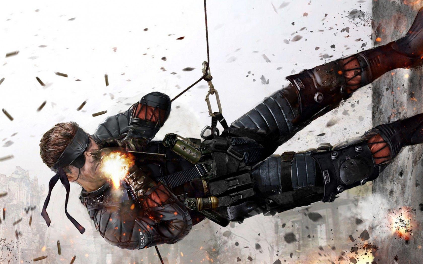 Metal Gear Solid Big Boss Wallpaper Videojuegos Juegos Y