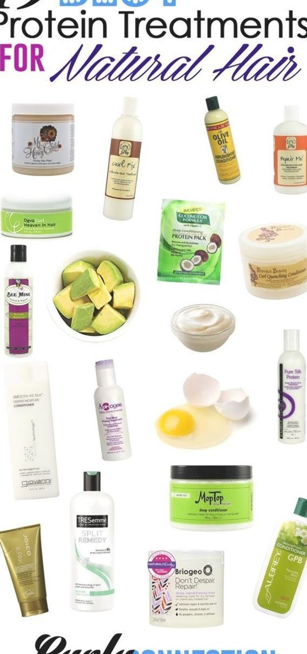 19 Best Protein Treatments for Natural Hair via  #NaturalCurlyHair