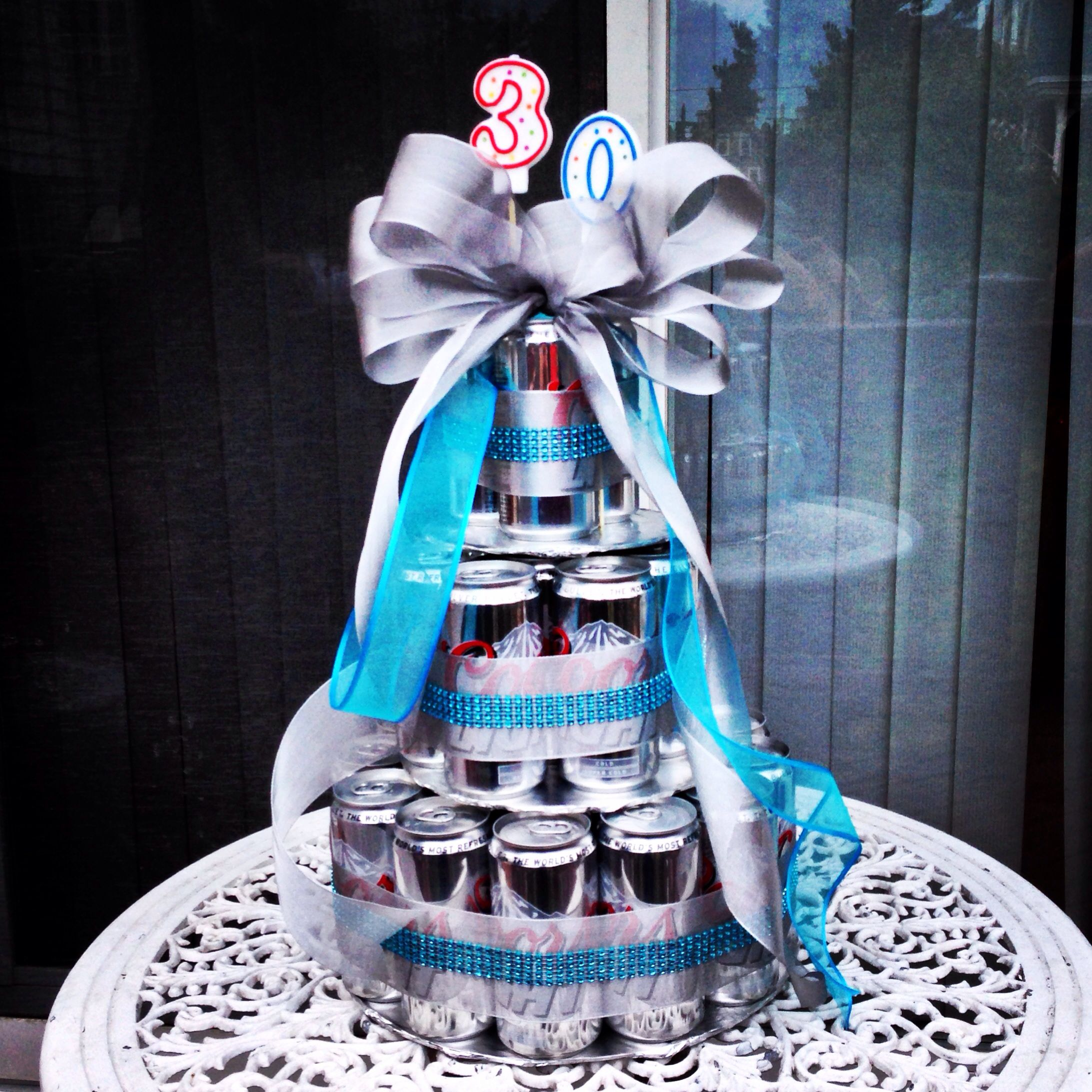 30 beers for thirty years beer cake for thirsty thursday