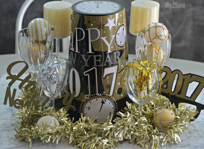 new-years-centerpiece-from-dollar-store (With images ...