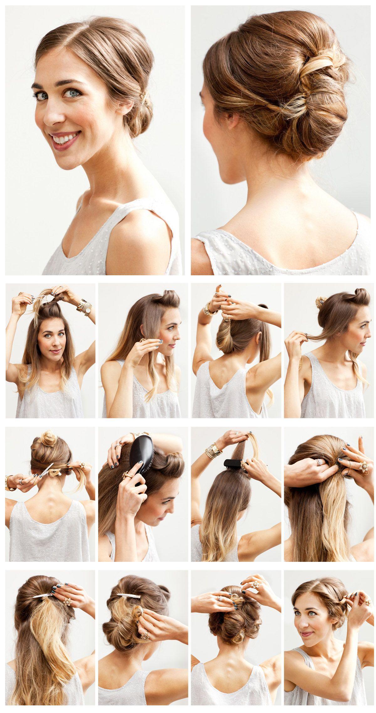 12 Hottest Wedding Hairstyles Tutorials For Brides And Bridesmaids Popular Haircuts Medium Hair Styles Medium Length Hair Styles Shoulder Hair