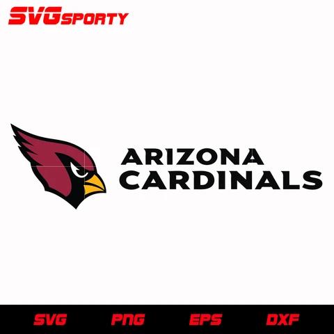 Arizona Cardinals Logo With Black Text Svg Nfl Svg Eps Dxf Png Digital File Arizona Cardinals Logo Arizona Cardinals Arizona Cardinals Football