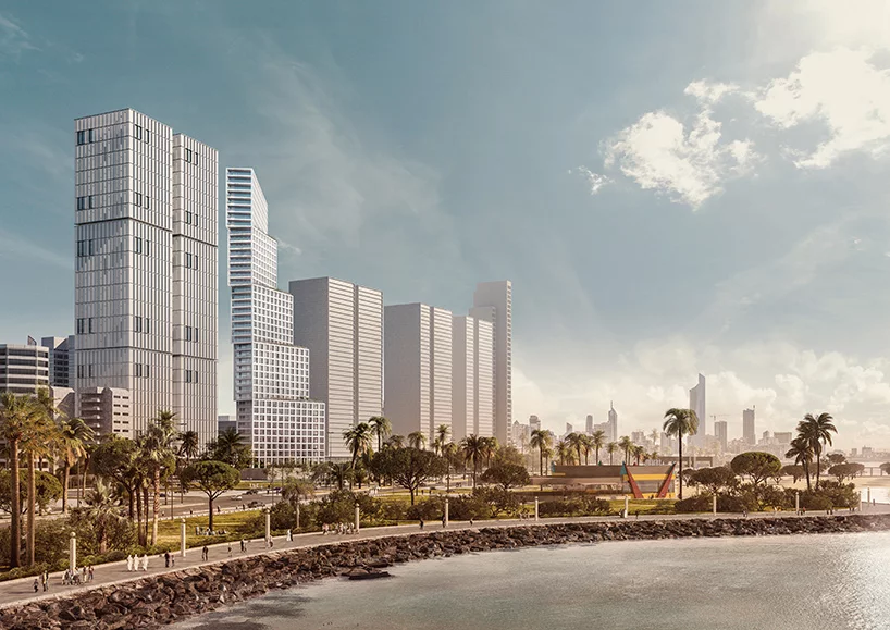 OMA plans stepped residential tower for kuwait city