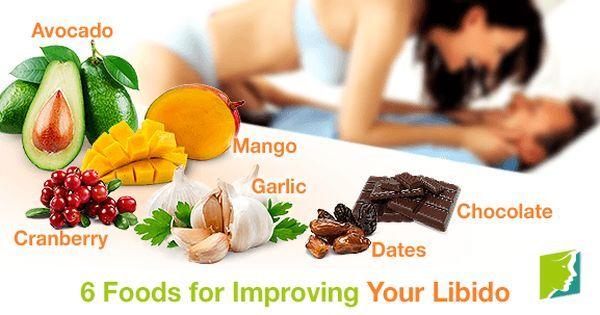 Foods that improve sex drive
