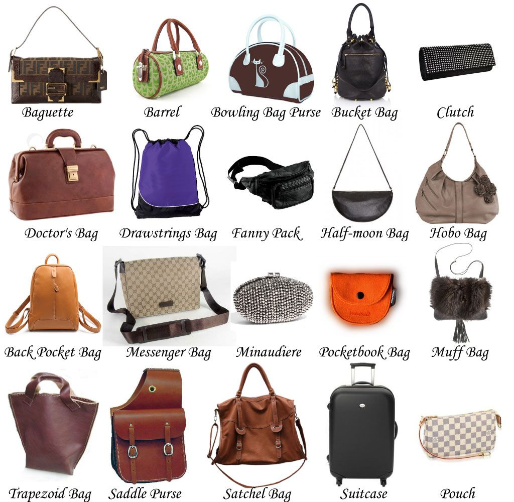 a great blog post about the different styles of handbags ...