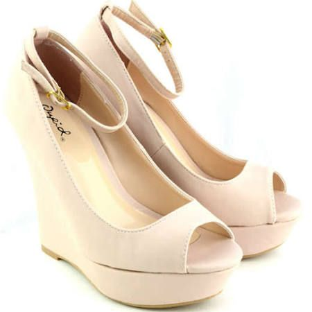 nude wedges - Google Search  Maybe for Graduation
