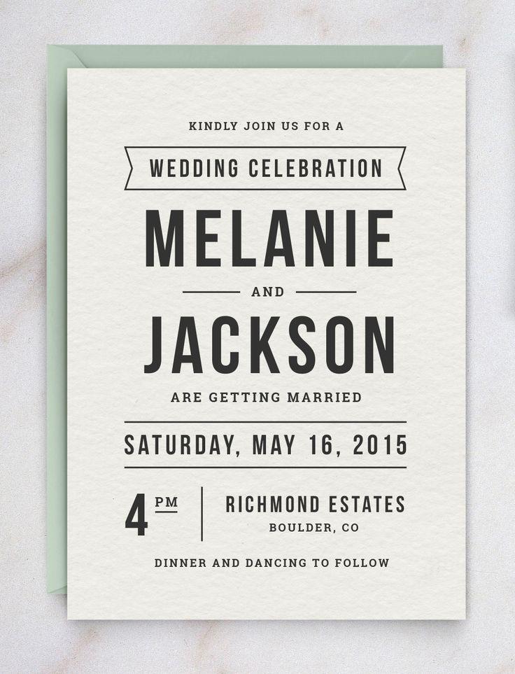 Wedding Invitation Template Suite   Elegant invitations, Diy wedding ...