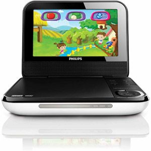 Philips Pd703 37 7 Lcd Portable Dvd Player With Wireless Game