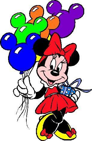 Minnie Mouse Clip Art Gif Minnie Maus Geburtstag Disney Bilder Mickey Maus Und Freunde
