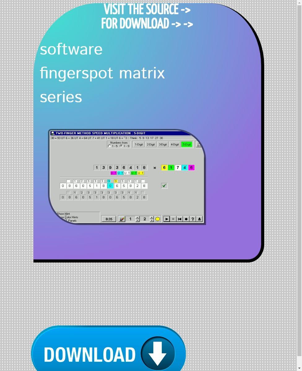 Download Aplikasi Fingerspot : download, aplikasi, fingerspot, Software, Fingerspot, Matrix, Series