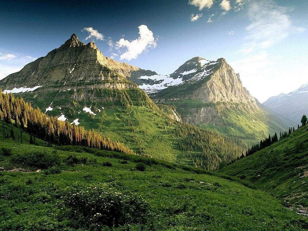 6 Snow Mountain Wallpapers Glacier National Park Montana