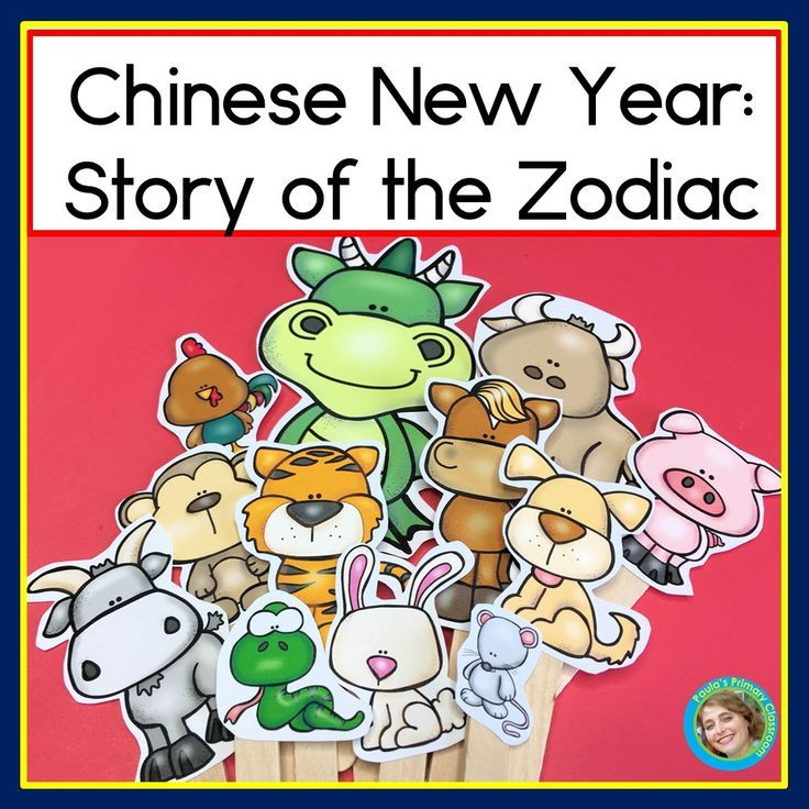 Chinese New Year 2020 Story of the Great Race and Props