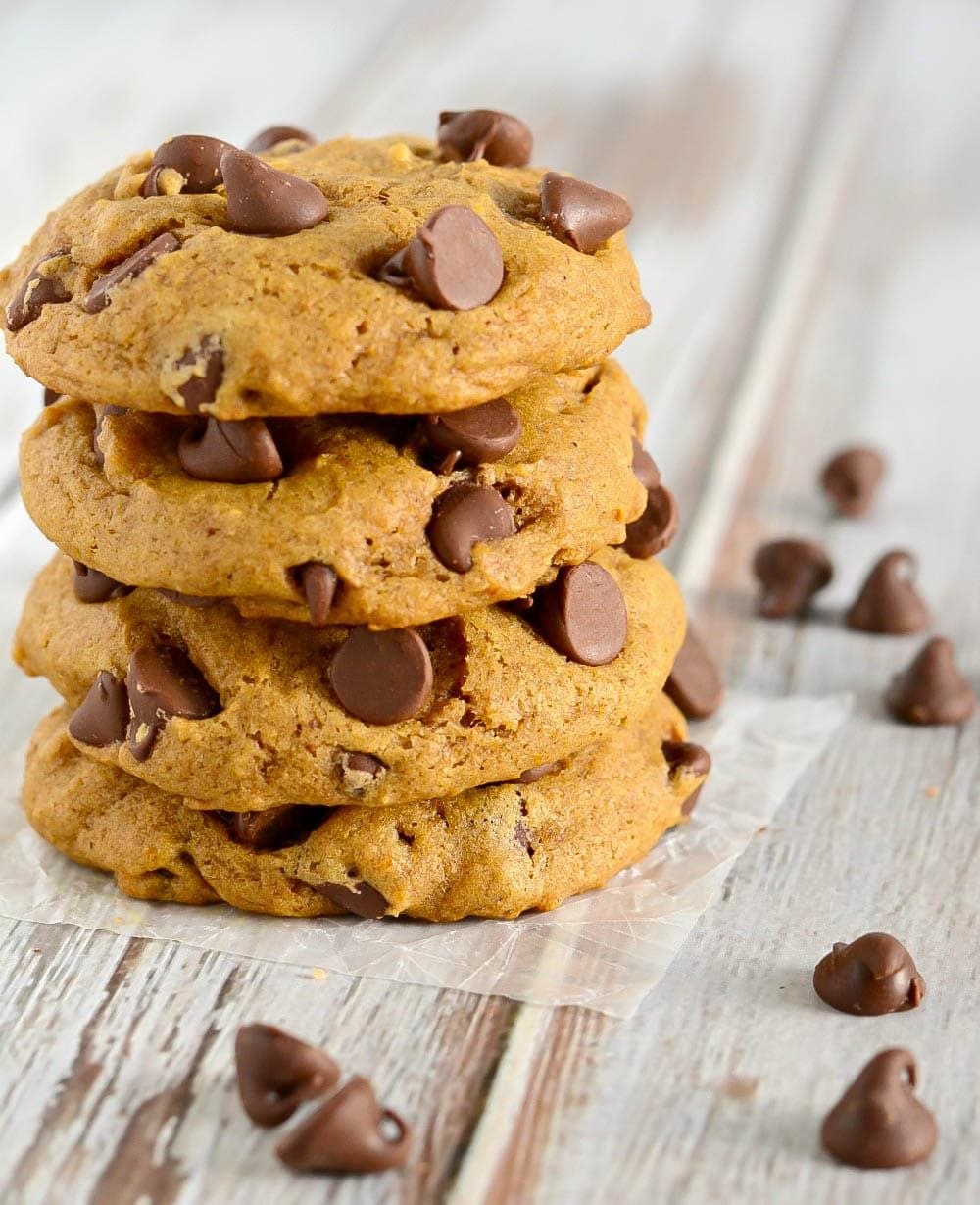 Pumpkin Chocolate Chip Cookie Recipe With Images Pumpkin