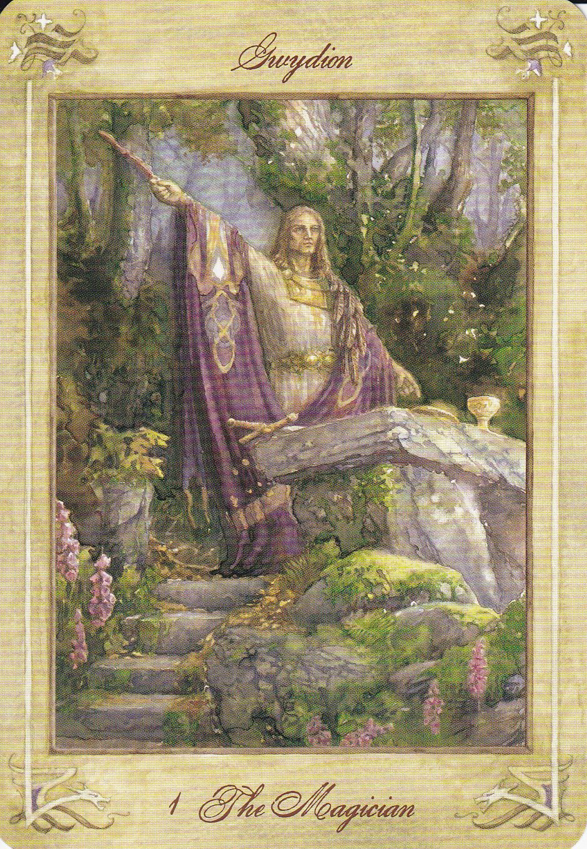 Llewellyn Tarot, I  The Magician | Tarot Art ~ Major Arcana I