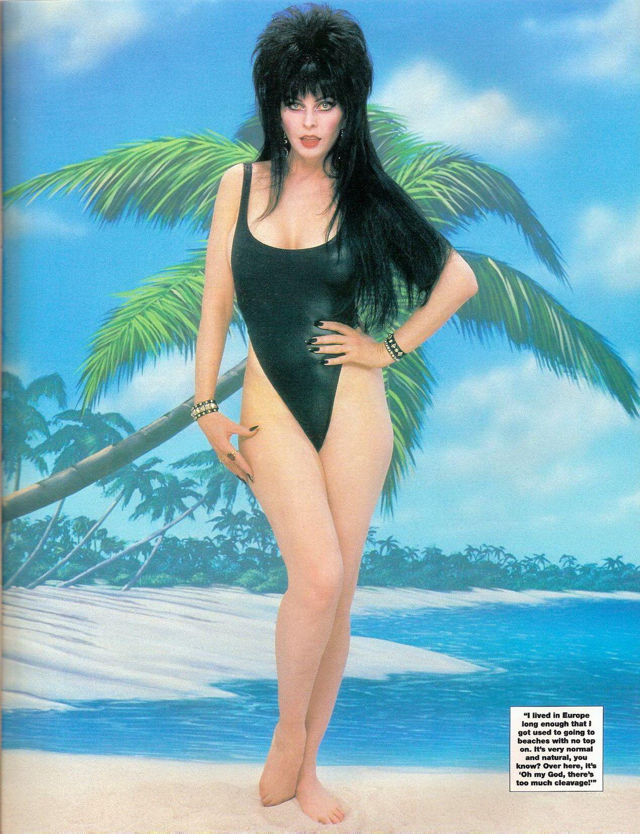 Bikini Elvira nude photos 2019