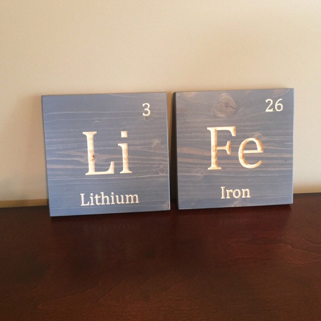 Name sign periodic table kids name sign family name custom kids name sign periodic table kids name sign family name custom kids sign periodic table elements baby shower gift wall mounted kids name sign gamestrikefo Gallery