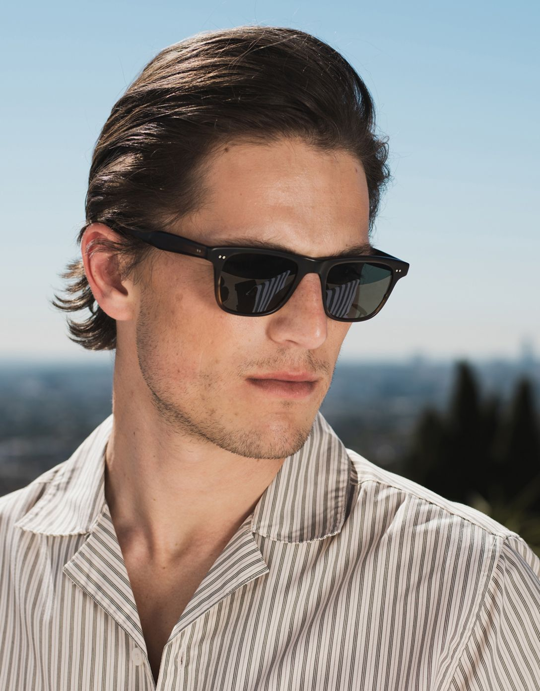 71b745713 The new GARRETT LEIGHT // WAVECREST SUNGLASSES for men is nothing short of  a statement