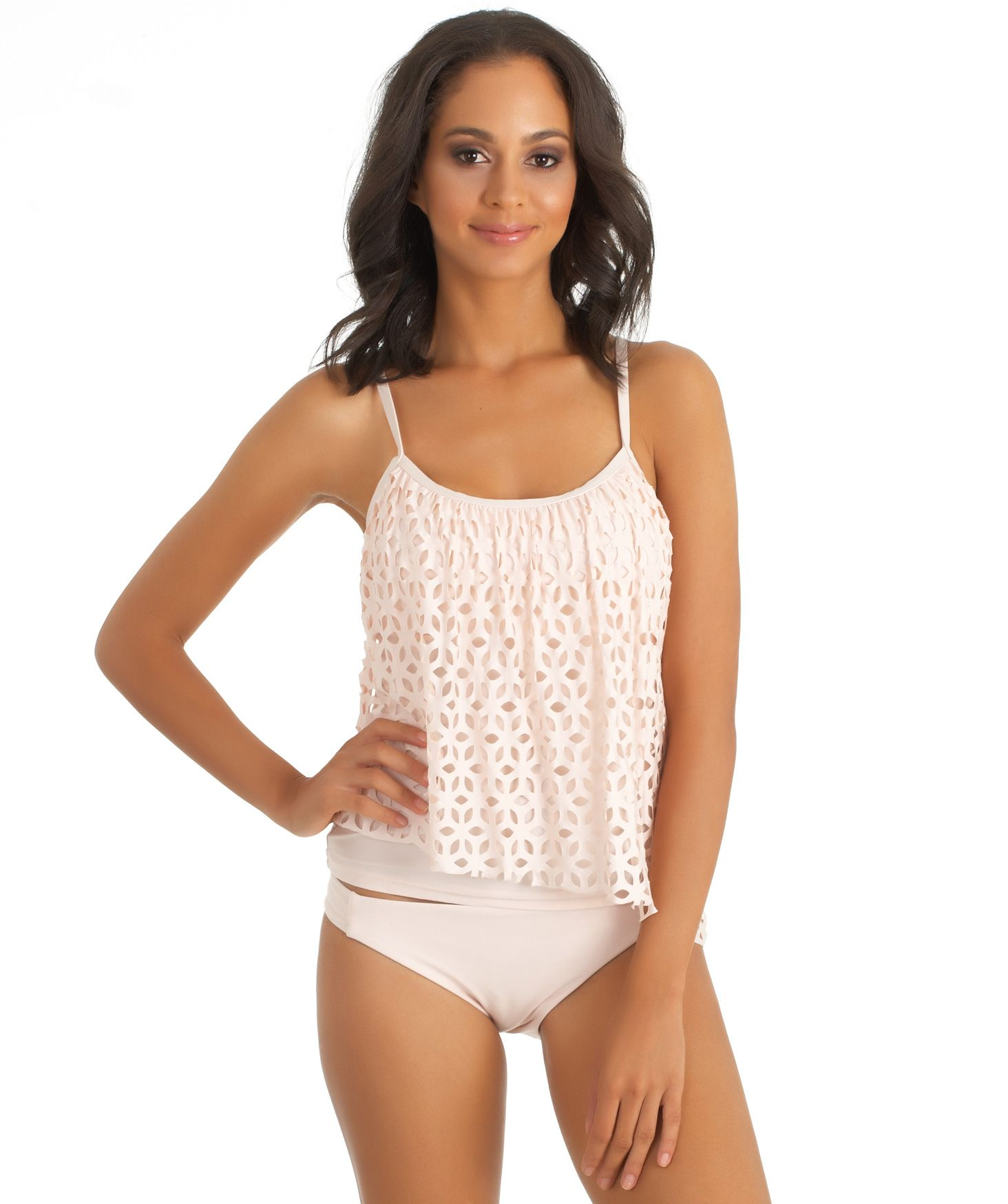 With the variety of designer bathing suits that South Beach Swimsuits carries, women are able to find the perfect tankini swimwear to fit their personal style and coverage needs. Many of the tops and bottoms can even be mixed and matched to create unique swimsuit combinations.