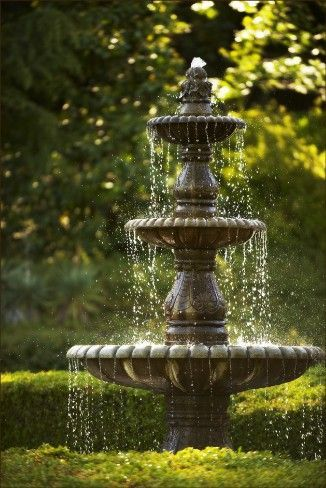 Garden Fountain Cleaning