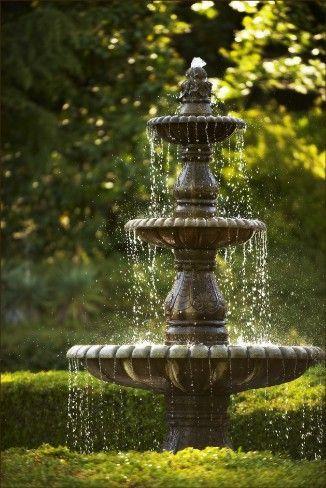 Antique Water Fountain | Monte Verde Inn | Water fountain ...