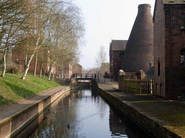Canal at the Coalport China Museum
