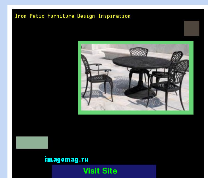 Iron Patio Furniture Design Inspiration 162529 - The Best Image Search