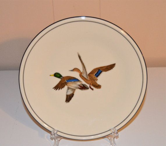 Lenox Collectible Duck Plate Decorative Plate Lenox by WVpickin & Lenox Collectible Duck Plate Decorative Plate Lenox by WVpickin ...