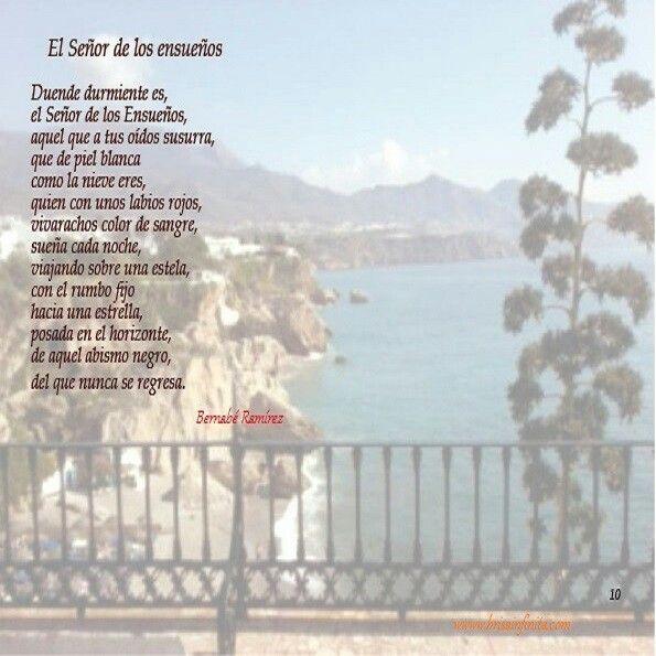El señor de los ensueños, poema