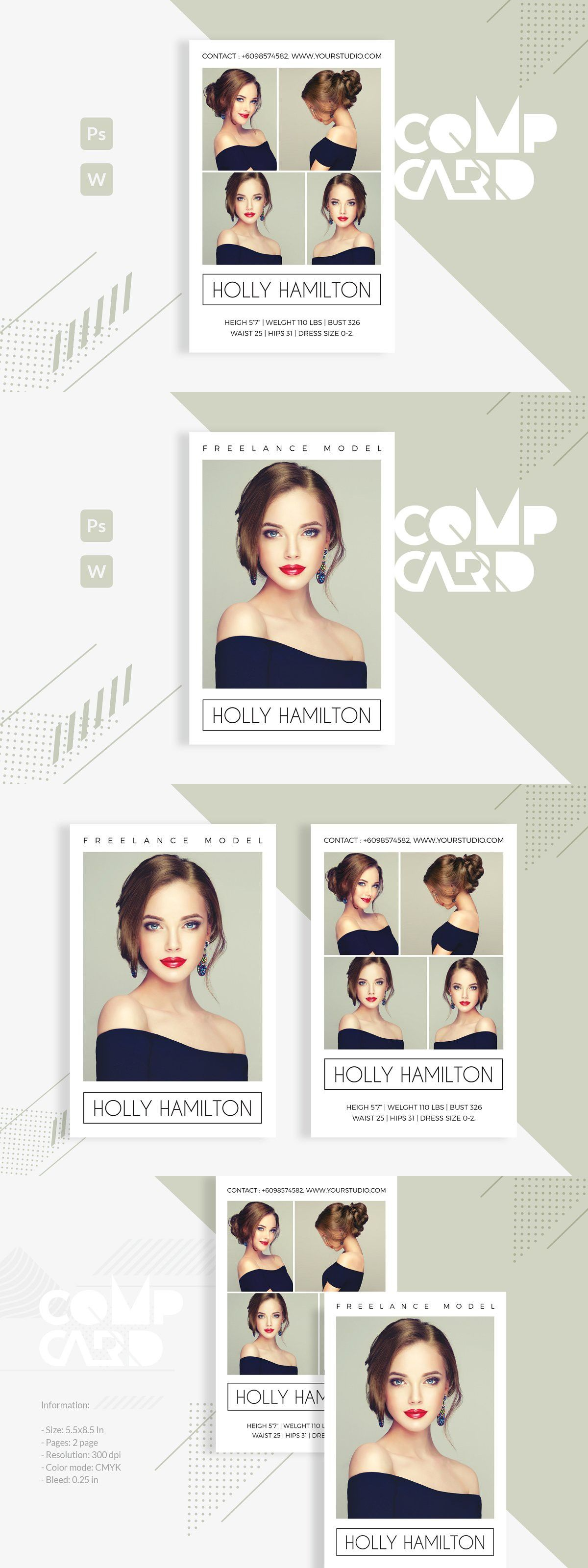 Pin On Creative Card Templates