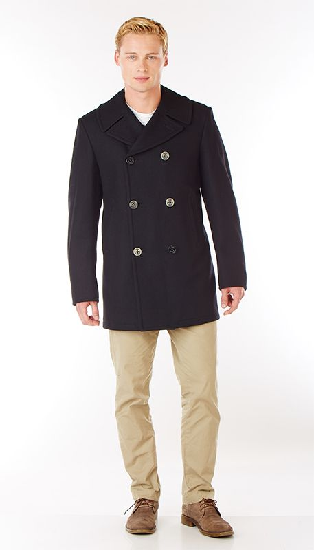 Sterlingwear Navigator peacoat (24 oz 100 melton wool