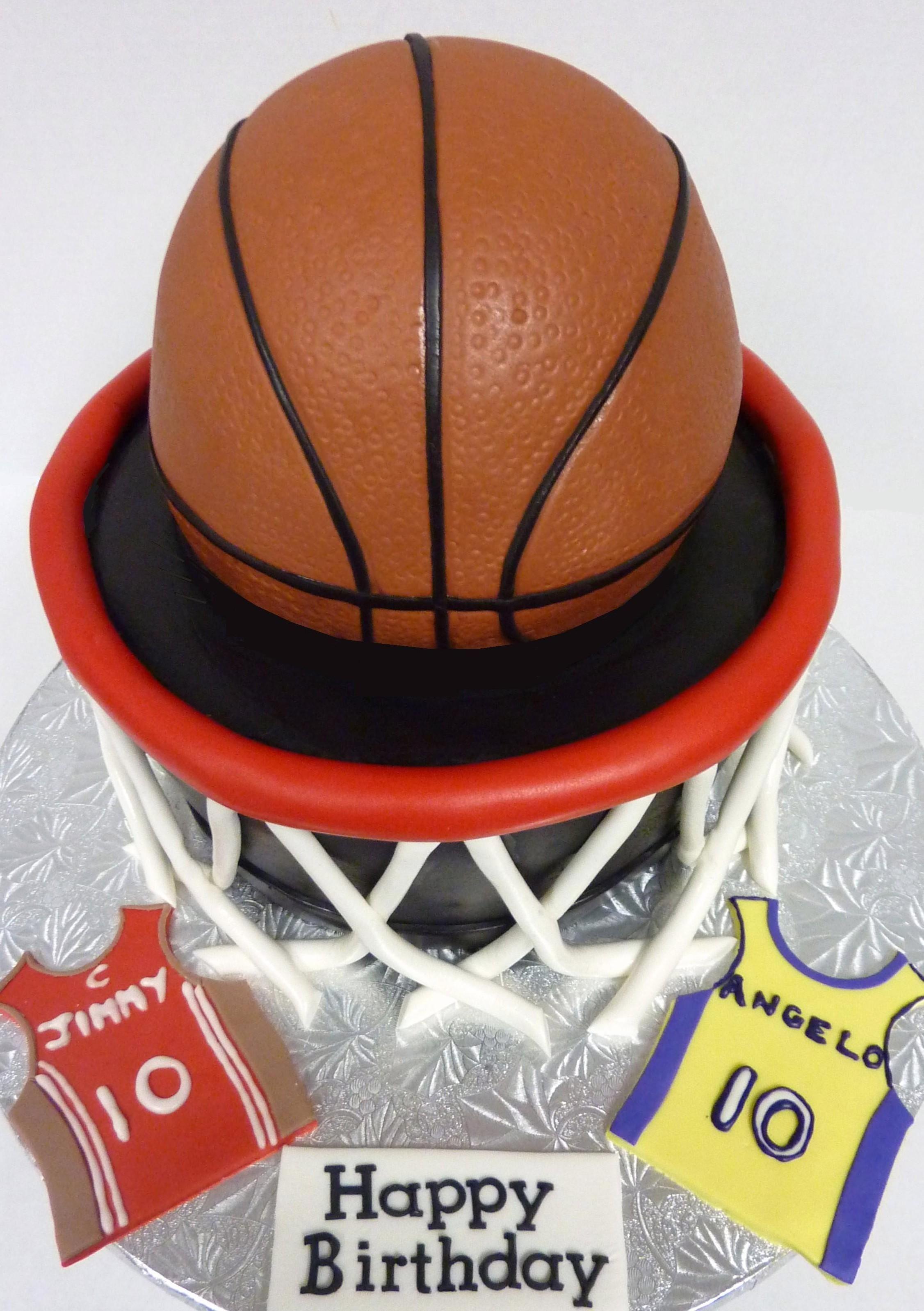 Basketball Hoop Birthday Basketball Nba Basketball Cake Basketball Birthday Cake Cakes For Boys