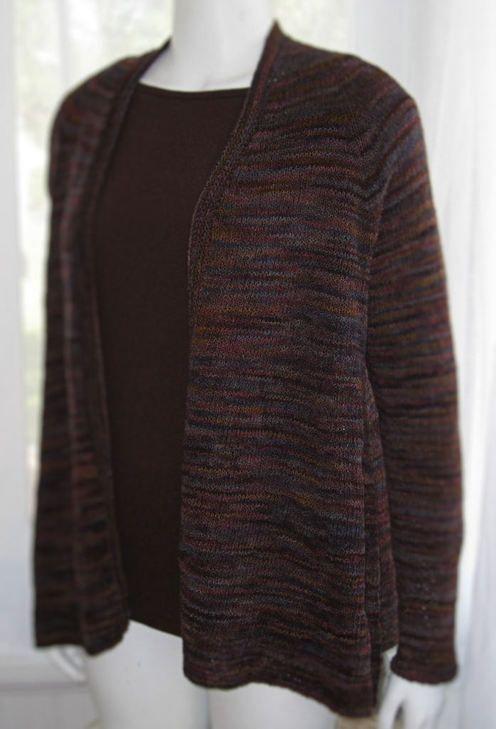Jamie Besel--Swing Cardi | Knit cardigan, Knitting ...