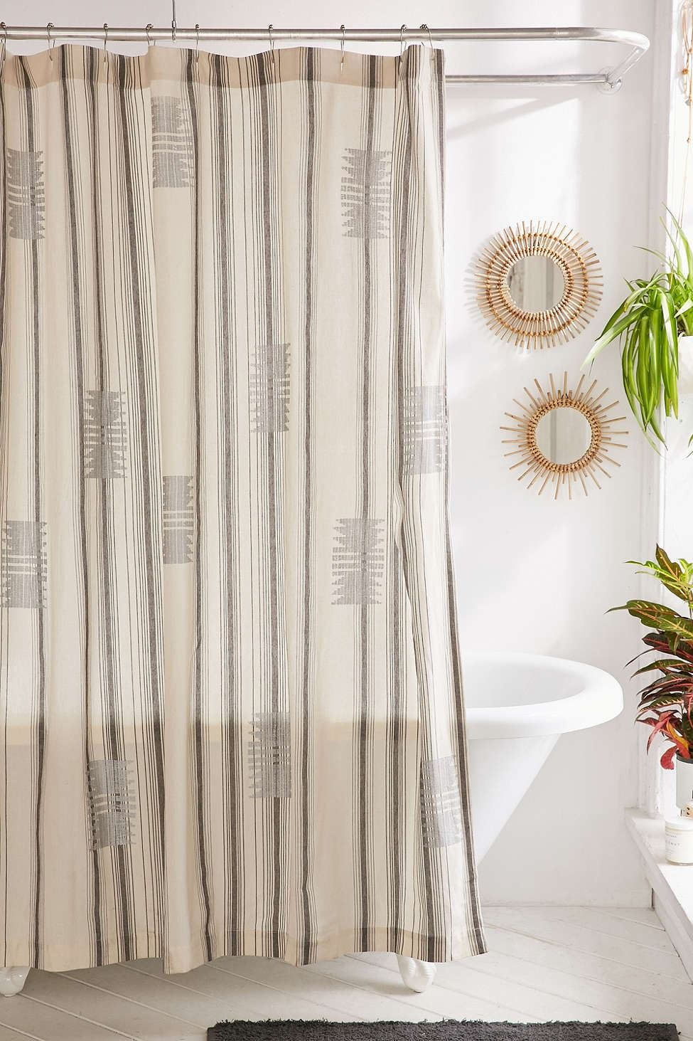 Copper Shower Curtain Hooks Set Modern Shower Curtains Unique Shower Curtain Bathroom Curtain Set