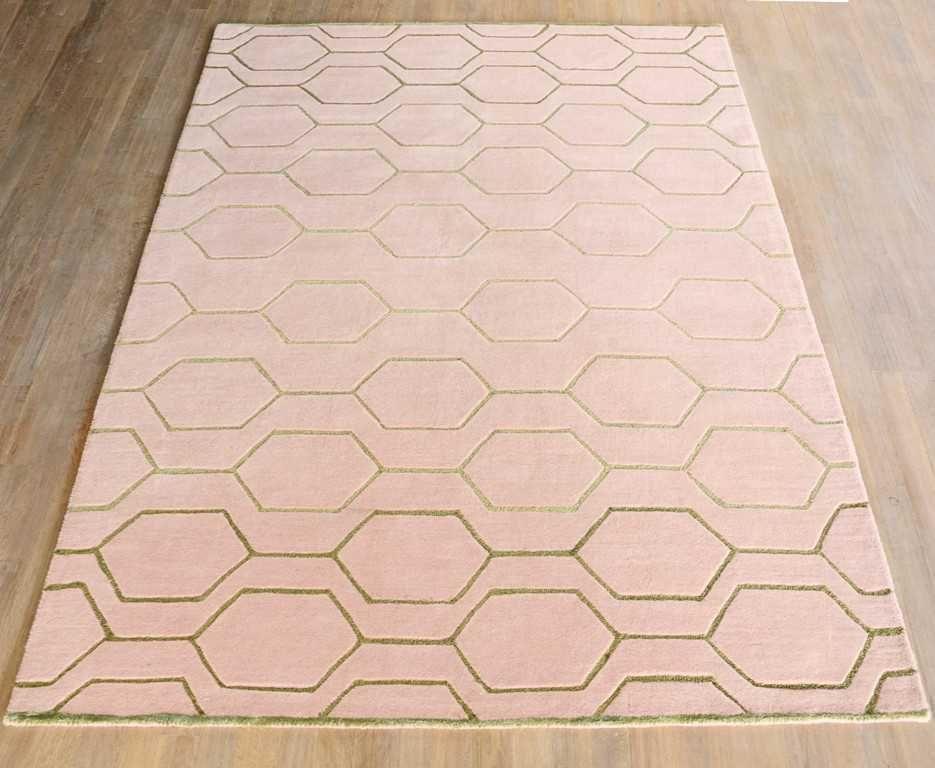 Wedgwood Arris 37302 Pink Gold Rugs Modern Rugs