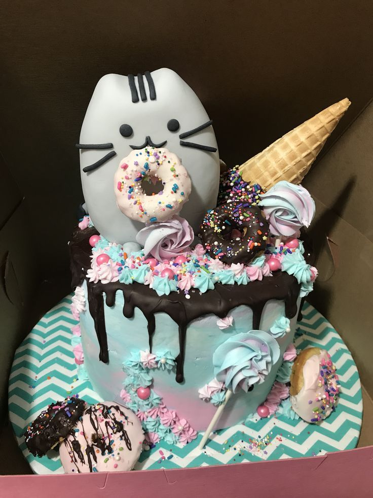 Pin by Jeffrey ooi on cakes deco Birthday cake for cat