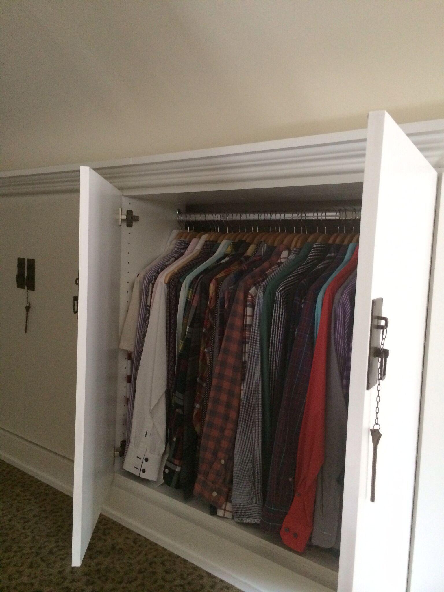 Attic Storage Room Organization