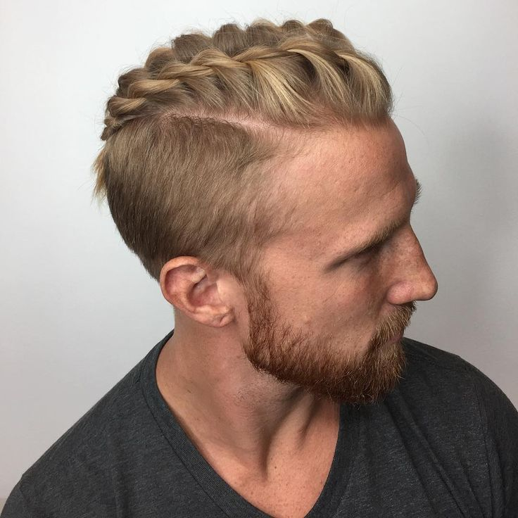 viking undercut braid