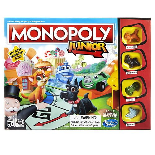 Monopoly Junior Board Game Hasbro Toys R Us Gift Ideas Games