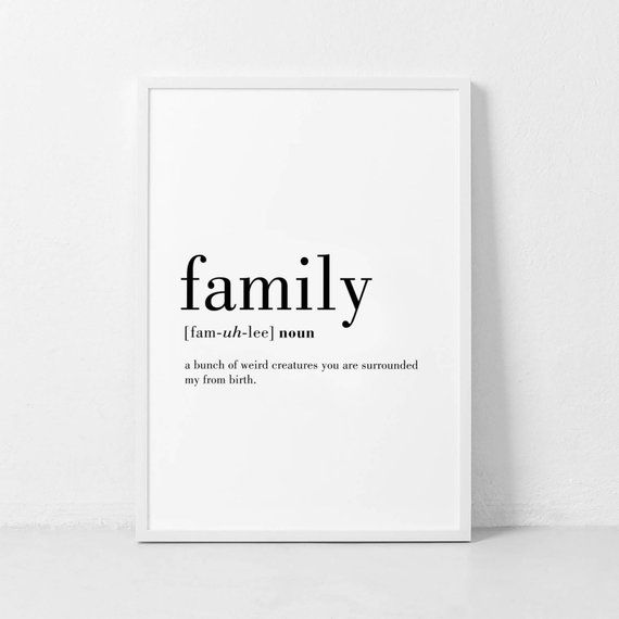 Defnition essay on family