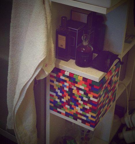 bo te de rangement de salle de bain d co boite de. Black Bedroom Furniture Sets. Home Design Ideas