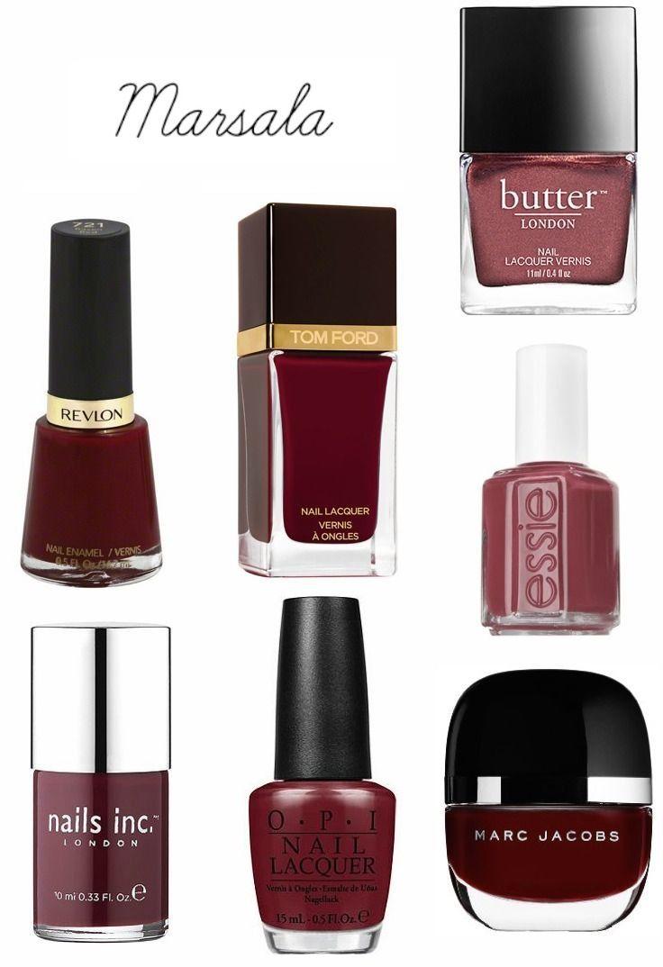 Que el Marsala invada tus uñas con estos Nail Arts! | Make up
