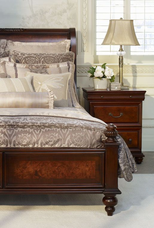 Essex King Sleigh Bed | Bombay Canada I'm not big on a matching