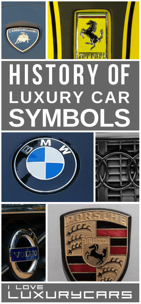 Luxury Cars Symbols And Their Logo History Pin It Here Shared