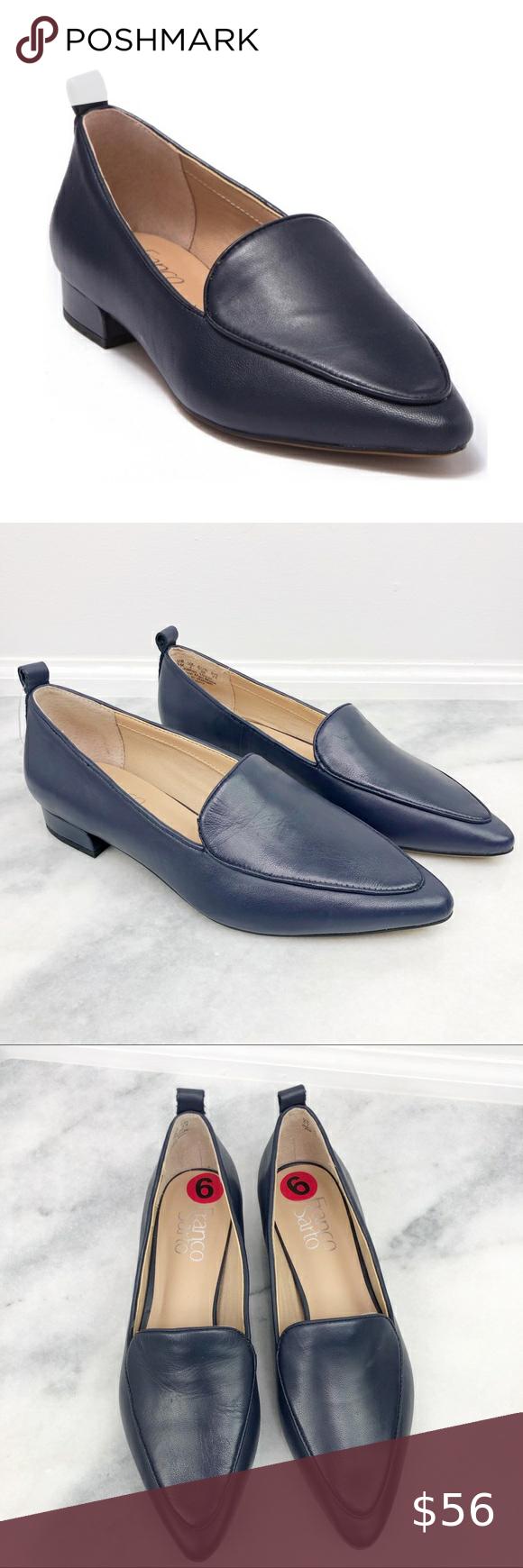 Franco Sarto Studio Pointed Toe Leather