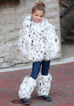 Kids Fur Coats Photo Album - Reikian