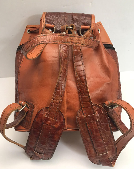 7d4dd8cb5 Mexican leather backpack/purse hippie in 2019 | Products | Leather ...
