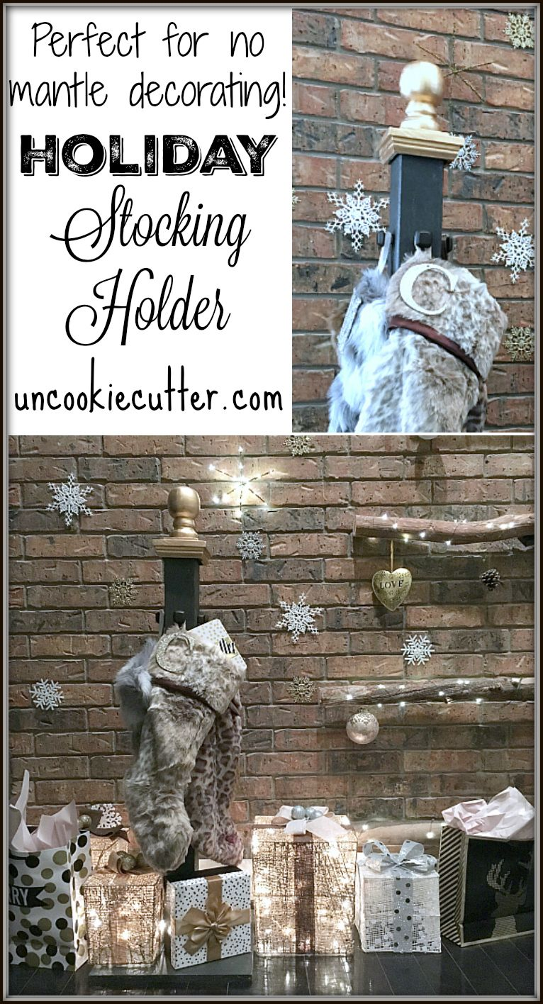 Holiday Stocking Post Home Depot Diy Workshops Holiday Stockings Diy Workshop Holiday