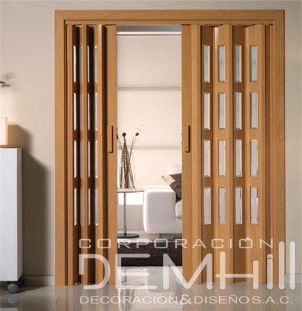 Resultado de imagen para puertas plegables de madera - Puertas plegables madera ...