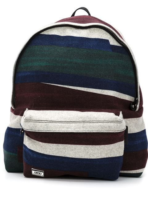 Shop Carven large stripe print backpack in Atelier NY from the world's best independent boutiques at farfetch.com. Shop 300 boutiques at one address.